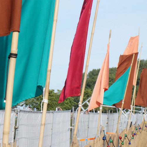 Buiten westen '15 vlaggen