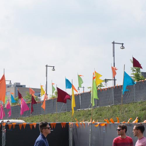 Pleinvrees vlaggen