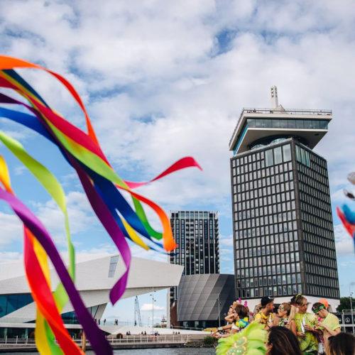 Adam - Canal parade - Pride
